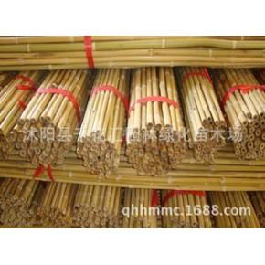 竹条竹竿 竹竿批发 竹竿架菜园 装饰篱笆 粗度长度 规格可定制