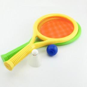 网面网球拍 塑料网球拍 儿童玩具球拍 健身体育用品