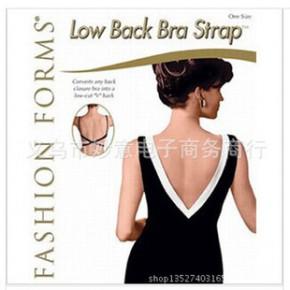 3件套装low back bra strap深V领露背装必备 文胸带 交叉延长带