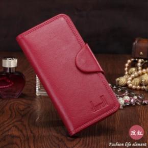 韩版新款热卖淘宝创意钱包批发 长款钱包女式三折真皮皮钱夹手包