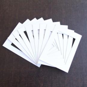 卡纸 相框照片墙内衬 7寸 10寸 7*12寸 8*16寸 12寸 16寸 20寸