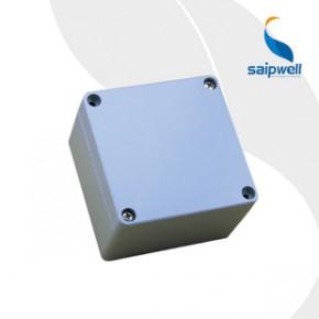 赛普供应 铸铝防水接线盒 方形金属材质 120*120*82mm密封开关盒