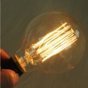 一件也批发爱迪生复古灯泡 设计师的灯泡 G95 40W