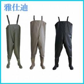 2014新品上市 防水墨绿钓鱼裤 透气透湿全码钓鱼裤