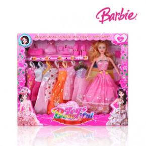 啟諾時尚公主經典版新款11.5寸芭比娃娃熱銷芭比 女孩玩具