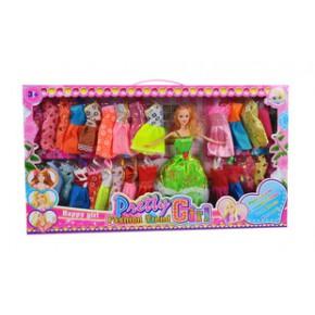 女孩禮物 玩具娃娃 正版芭比娃娃禮盒套裝 奧龍創意