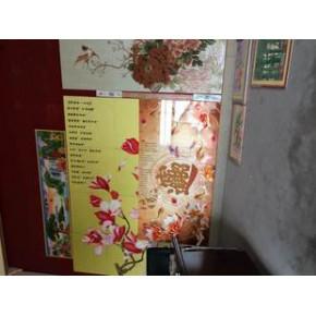 山东石壁画数码打印机 瓷砖背景墙石英石印花机特大优惠