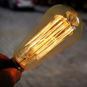 爱迪生复古灯泡 工业革命风格灯泡 ST64