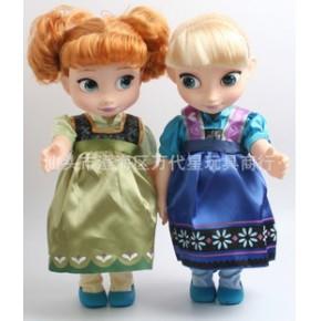 12寸冰雪洋娃娃公仔 艾莎安娜冰雪奇缘芭芘娃娃 小号芭芘娃娃