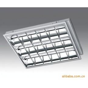 宏顺格栅灯/哑光铝 光源及电感镇流器为飞利浦