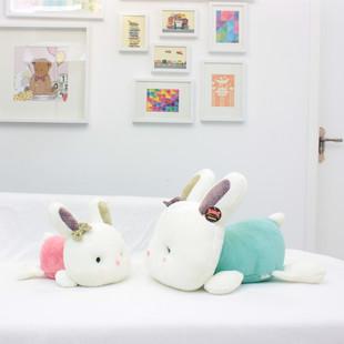 可爱趴趴咪兔公仔抱枕创意婚庆压床毛绒玩具女孩生日礼物