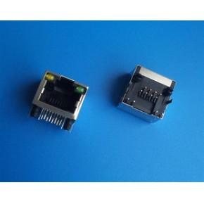 RJ45网络插座 带灯屏蔽 网络播放器专用