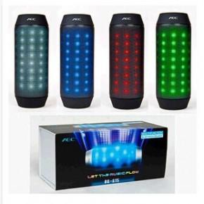 BQ-615音乐脉动LED炫彩无线蓝牙音箱创新迷你小音响 户外便携