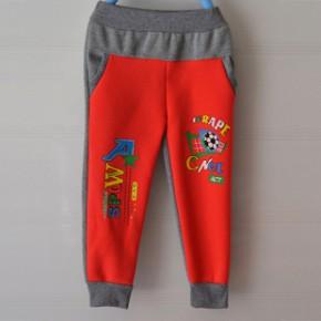 2014 秋款童 时尚休闲 男 女 中童运动裤 针织健康布