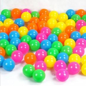 环保无毒海洋球 彩球 婴幼儿童玩具球 游泳玩具帐篷球5.5CM