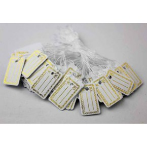 珠宝首饰吊牌 空白吊牌 商品价格标签 花纹标签特价牌