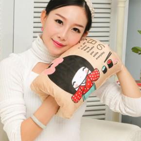 2014新款 国标毛绒可拆洗充电热水袋卡通电暖宝暖手宝
