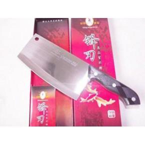 755不锈钢菜刀切菜刀砍骨刀具超厚实切肉刀斩骨切片刀