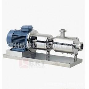 SRH-3型三级高剪切乳化泵5.5KW 三级高速均质泵 三级高速剪切泵