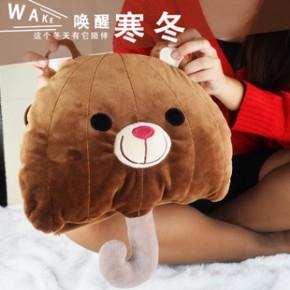 贝比乐2014新款小伞电热水袋暖手宝 暖宝宝充电 电暖宝