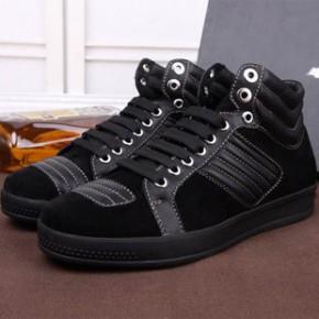 男士中简英伦潮流马丁靴牛皮休闲韩版男士皮鞋原单外贸EZ913
