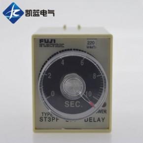 富士时间继电器 AC220V DC12V-