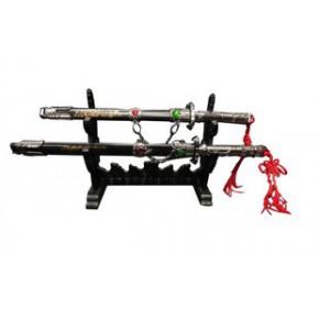 25-26 小宝剑套装/工艺摆设未开刃刀剑 家居摆件 金属工艺品