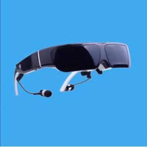 3D智能眼镜批发 棕色 高清宽屏智能眼镜 移动影院 带wifi