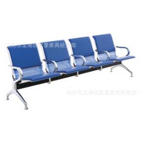 包邮公共排椅机场椅银行医院点滴椅等候椅休息椅三四人带皮垫
