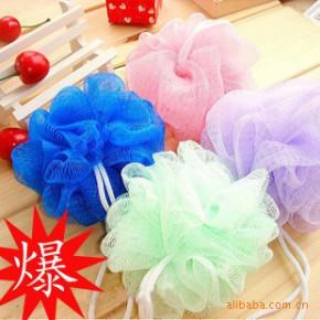 韩国可爱彩色沐浴球/浴擦/浴花 洗澡必备 洗浴用品批发 10g