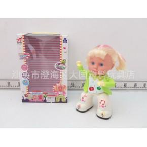 電動產品 新一代跳舞玩具 電動跳舞女孩娃娃小蘋果歌曲
