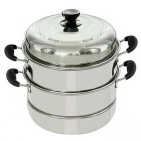 蒸锅不锈钢三层 蒸锅复底多层加厚蒸笼电磁炉通用锅具