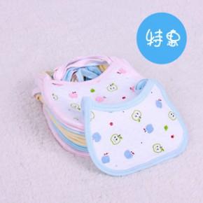 特惠婴儿围嘴围兜 宝宝纯棉口水巾 新生儿防水围嘴儿童吃饭兜