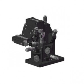 PLC对光机 精密6维调整架 光学位移平台 精密工作台S60-05MR(L)
