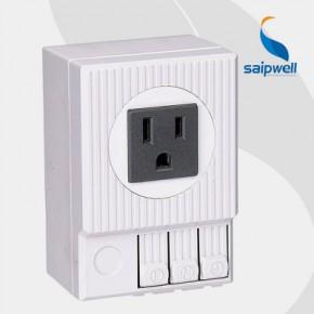 SD035美式插座 导轨式柜体插座 美式电源插座 美标动力柜电源插座