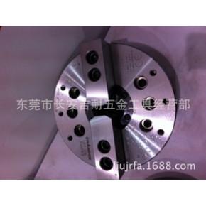 台湾千岛CHANDOX二爪高速中空油压卡盘OPT系列;进口卡盘