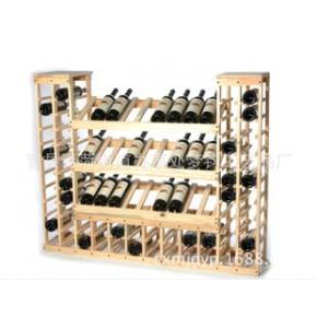 多层简易简约酒架 实木酒架 木制红酒架葡萄酒架定做