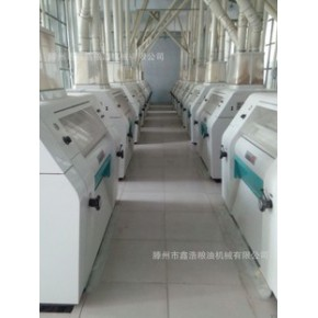 粮食加工机械     大型面粉机械  200T面粉设备新型面粉机