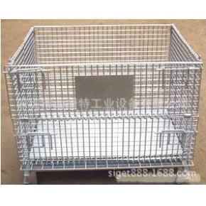 仓储笼-工业用折叠式周转笼-仓库储运笼