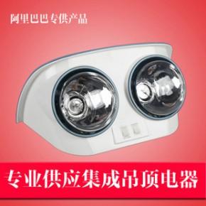 两灯取暖 浴霸壁挂式浴霸 挂壁式两灯A级防爆灯泡 二灯暖