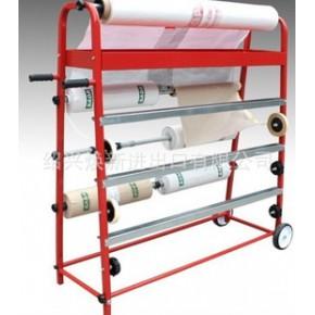 遮蔽纸架 遮蔽膜架 手推车式切纸架 多功能喷漆工作架钣金支架