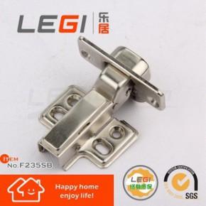 LEGI品牌家具柜门用液压缓冲铁铰链 二段力阻尼门铰无声自关合页