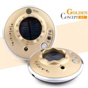 新款车载加湿器香薰家用迷你加湿器太阳能充电车载空气净化器