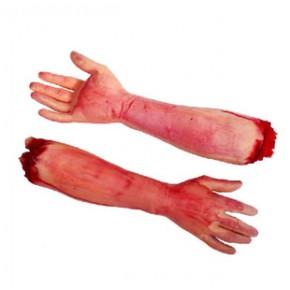 萬圣節用品 整人玩具鬼怪玩具 恐怖斷手 長斷胳膊 大號斷手