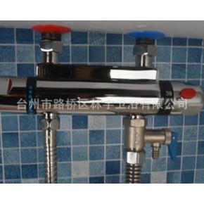 全铜淋浴恒温水龙头 温控混水阀 新款电热水器专用恒温