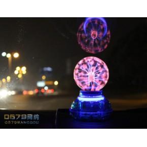 汽车USB供电 带声控魔球 静电球离子球闪电球 神奇感应小夜灯