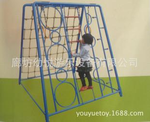 拱形式儿童爬网,儿童攀岩攀爬游乐设备,幼儿园游乐设施
