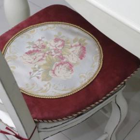 爆款货源 短毛绒椅垫 坐垫 欧式桌椅垫 厂家批发代理加盟