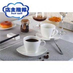 陶瓷 12头咖啡杯碟套装  骨瓷咖啡杯碟 可加LOGO