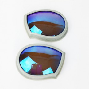 衣服安全防护眼罩供应商 车线款橡胶皮圈服装眼镜定制厂家 优价